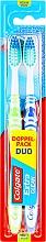 "Profumi e cosmetici Set ""Pulizia professionale"", durezza media, verde chiaro + blu - Colgate Expert Cleaning Medium Toothbrush"