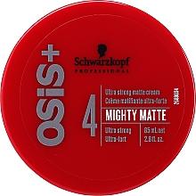 Profumi e cosmetici Crema per lo styling - Schwarzkopf Professional Osis+ Mighty Matte Cream
