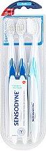 Profumi e cosmetici Set spazzolini morbidi - Sensodyne Gentle Care Soft Toothbruhs