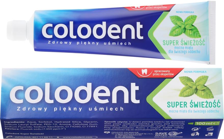 """Dentifricio """"Super Freschezza"""" - Colodent"""
