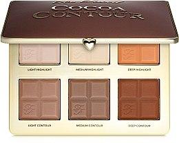 Palette per contouring ed illuminanti - Too Faced Cocoa Contour Palette — foto N1