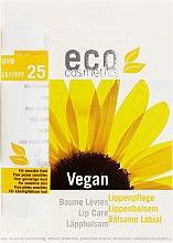 Profumi e cosmetici Balsamo per labbra SPF 25 - Eco Cosmetics Lip Care SPF 25