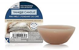 Profumi e cosmetici Cera profumata - Yankee Candle Wax Melt Warm Cashmere