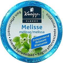 """Profumi e cosmetici Compressa effervescente per il bagno """"Melissa"""" - Kneipp Aroma Sprudelbad Melisse"""