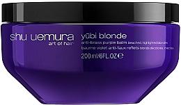 Profumi e cosmetici Balsamo per neutralizzare il giallo - Shu Uemura Art Of Hair Yubi Blonde Anti Brass Purple Balm