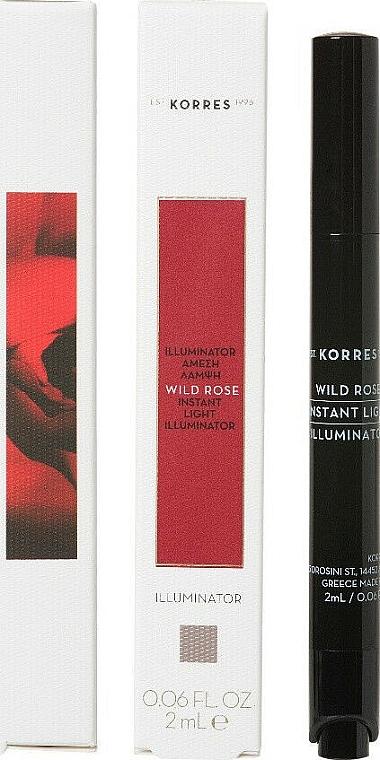 Correttore viso - Korres Wild Rose Instant Light Illuminator Concealer
