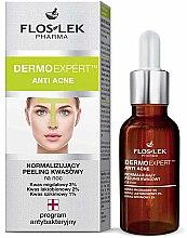 Profumi e cosmetici Peeling per la notte - Floslek Dermo Expert Anti Acne Peeling