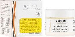 Profumi e cosmetici Crema idratante per pelli normali e secche da giorno - Apeiron Moisturizing Cream