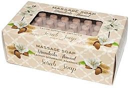 """Profumi e cosmetici Sapone da massaggio """"Mandorla"""" - Gori 1919 Massage Scrub Soap Almond"""
