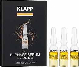 "Profumi e cosmetici Siero bifasico ""Vitamina C"" - Klapp Bi-Phase Serum Vitamin C"