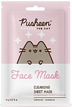 Profumi e cosmetici Maschera viso detergente - Pusheen Cleansing Sheet Mask