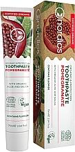 """Profumi e cosmetici Dentifricio """"Melograno"""" con aloe vera e salvia - Nordics Toothpaste Pomegranate"""