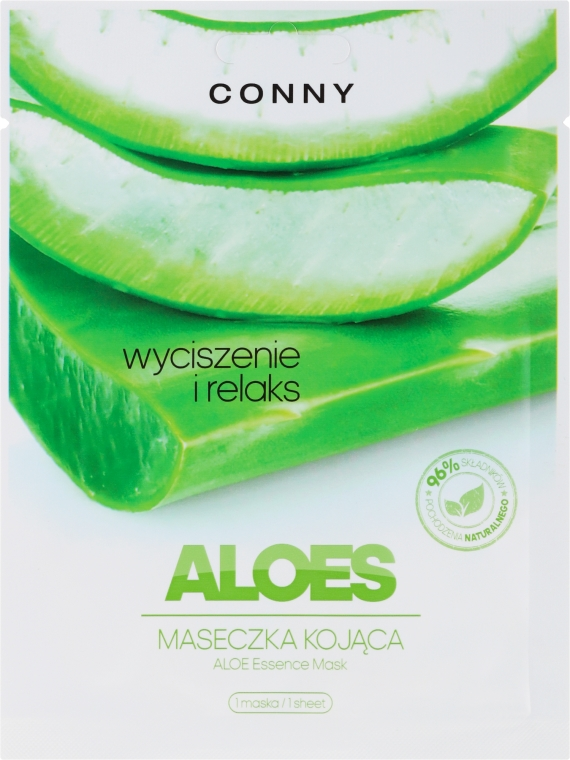 "Maschera viso ""Aloe"" - Conny Aloe Essence Mask"