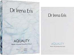 Profumi e cosmetici Maschera idratante - Dr. Irena Eris Aquality Water-Infused Essential Mask