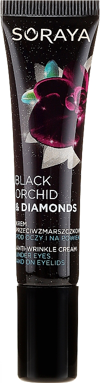 Crema antirughe contorno occhi - Soraya Black Orchid & Diamonds Anti-Wrinkle Cream Under Eyes And On Eyelids — foto N2