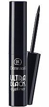 Profumi e cosmetici Eyeliner - Dermacol Ultra Black Eyeliner