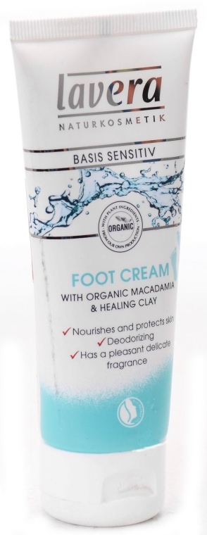 Crema piedi - Lavera Basis Sensitiv Foot Cream — foto N1
