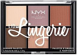 Profumi e cosmetici Palette ombretti occhi - NYX Professional Makeup Lingerie Shadow Palette