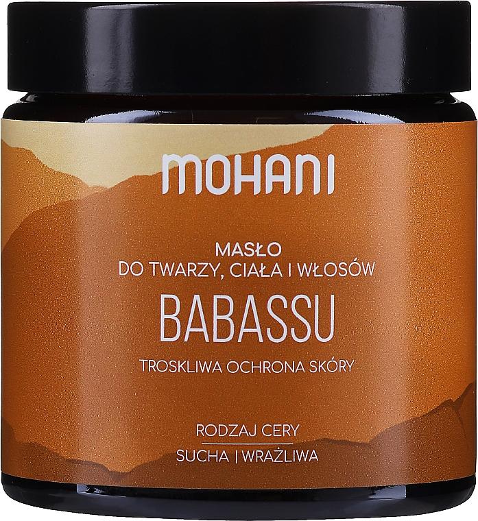 "Burro viso e corpo ""Babassu"" - Mohani Babassu Rich Batter"
