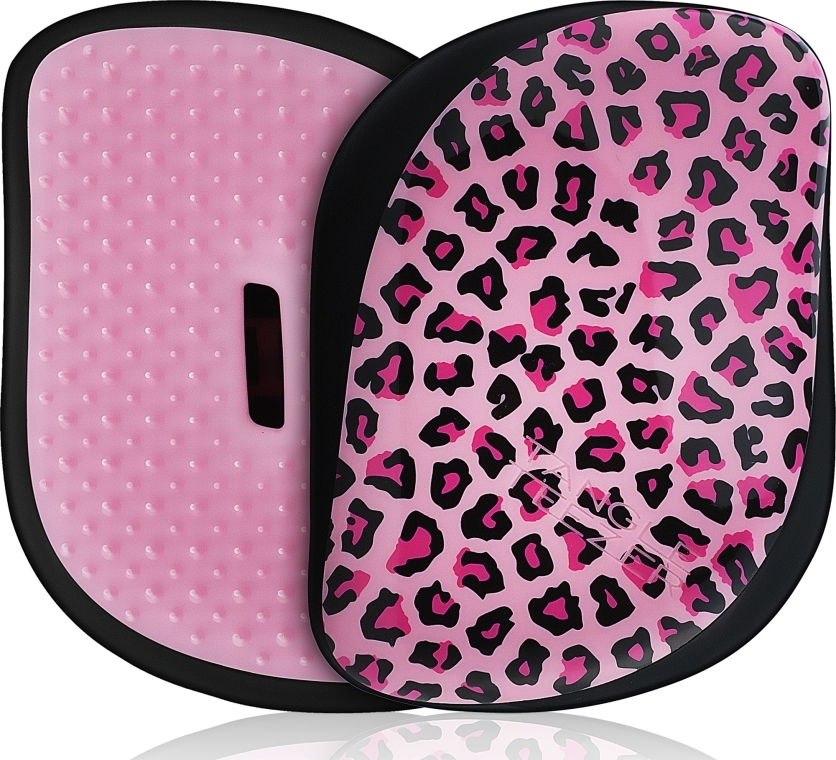 Spazzola per capelli - Tangle Teezer Compact Styler Pink Kitty Mobile Brush