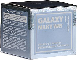 Profumi e cosmetici Maschera esfoliante - Dermal Yeppen Skin Galaxy Milky Way On My Face