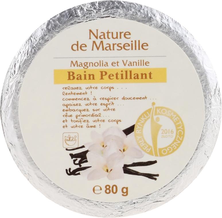 """Bomba da bagno """"Magnolia e vaniglia"""" - Nature de Marseille Magnolias&Vanilla"""