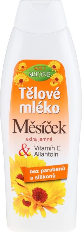 Lozione corpo idratante alla calendula con vitamina E e allantoina - Bione Cosmetics Marigold Hydrating Body Lotion With Vitamin E and Allantoin