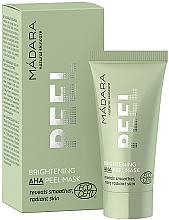 Profumi e cosmetici Maschera peeling rinfrescante con acidi ANA - Madara Cosmetics Brightening AHA Peel Mask