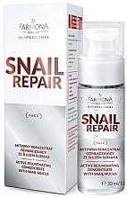 Profumi e cosmetici Concentrato attivo antietà alla bava di lumaca - Farmona Professional Snail Repair Active Rejuvenating Concentrate With Snail Mucus