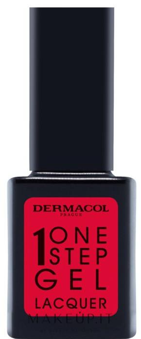 Smalto per unghie - Dermacol One Step Gel Lacquer — foto 04 - Valentine