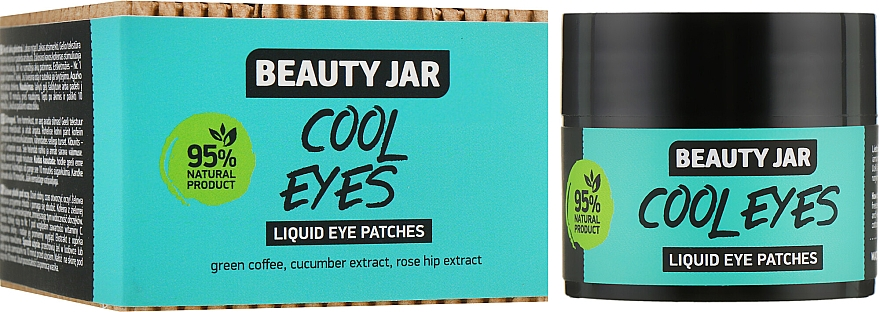 "Patch occhi ""Cool Eyes"" - Beauty Jar Liquid Eye Patches"