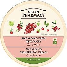 """Profumi e cosmetici Crema viso, nutriente anti-età """"Ossicocco"""" - Green Pharmacy Anti-Aging Nourishing Cream"""