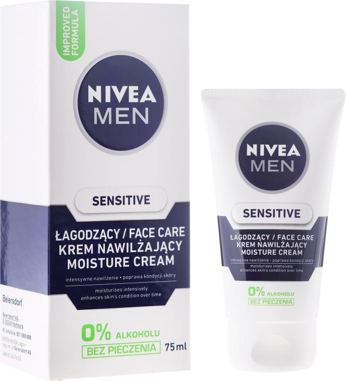 Crema dopobarba per pelle sensibile - Nivea For Men Sensitive Moisture Cream — foto N1