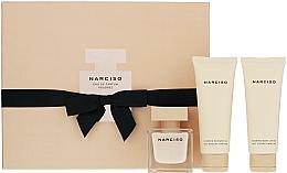 Profumi e cosmetici Narciso Rodriguez Narciso Poudree - Set (edp/50ml + b/lot/75ml + sh/gel/75ml)