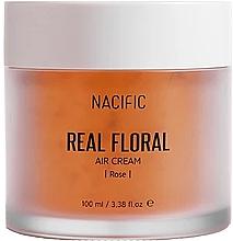 Profumi e cosmetici Crema viso ai petali di rosa - Nacific Real Floral Rose Air Cream