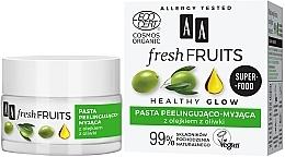 Profumi e cosmetici Peeling all'olio d'oliva - AA Fresh Fruits Healthy Glow