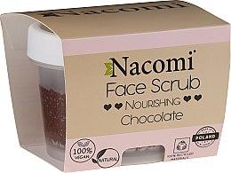 Profumi e cosmetici Scrub idratante per viso e labbra - Nacomi Moisturizing Face&Lip Scrub Chocolate