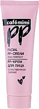 """Profumi e cosmetici PP-Crema viso """"Luminosità naturale"""" - Cafe Mimi Facial PP-Cream"""