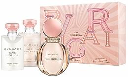 Profumi e cosmetici Bvlgari Rose Goldea - Set (edp/50ml + b/lot/40ml + sh/gel/40ml)