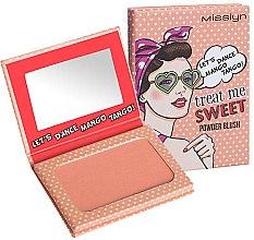 Profumi e cosmetici Blush viso - Misslyn Treat Me Sweet! Powder Blush