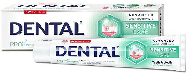 Dentifricio per denti sensibili - Dental Pro Sensitive Care — foto N1