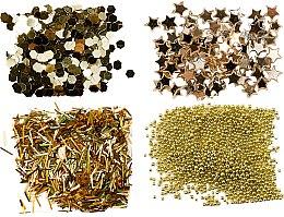 Profumi e cosmetici Set glitter, oro - Peggy Sage Nail Glitter Mini Kit Or