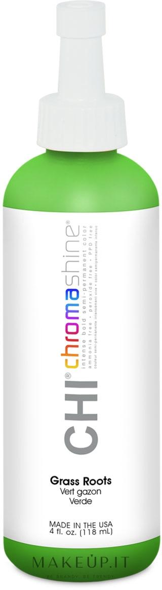 Tinta semipermanente - Chi Chromashine Intense Bold Semi-Permanent Color — foto Grass Roots