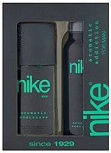 Profumi e cosmetici Nike Men Aromatic Addiction - Set (deo/200ml + deo/spray/75ml)