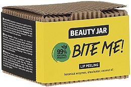 Profumi e cosmetici Scrub labbra al burro di cocco e karitè - Beauty Jar Bete Me Lip Peeling