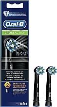 Profumi e cosmetici Testina di ricambio per spazzolino elettrico Cross Action CA EB50 Black Edition - Oral-B