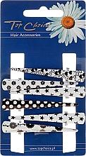 Profumi e cosmetici Fermacapelli, 25020, bianco, nero - Top Choice