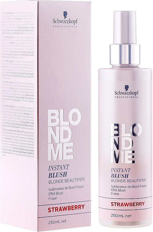 Spray colorante per capelli - Schwarzkopf Professional BlondMe Instant Blush Spray — foto N1