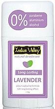 "Profumi e cosmetici Deodorante stick ""Lavanda"" - Indus Valley Lavender Deodorant Stick"