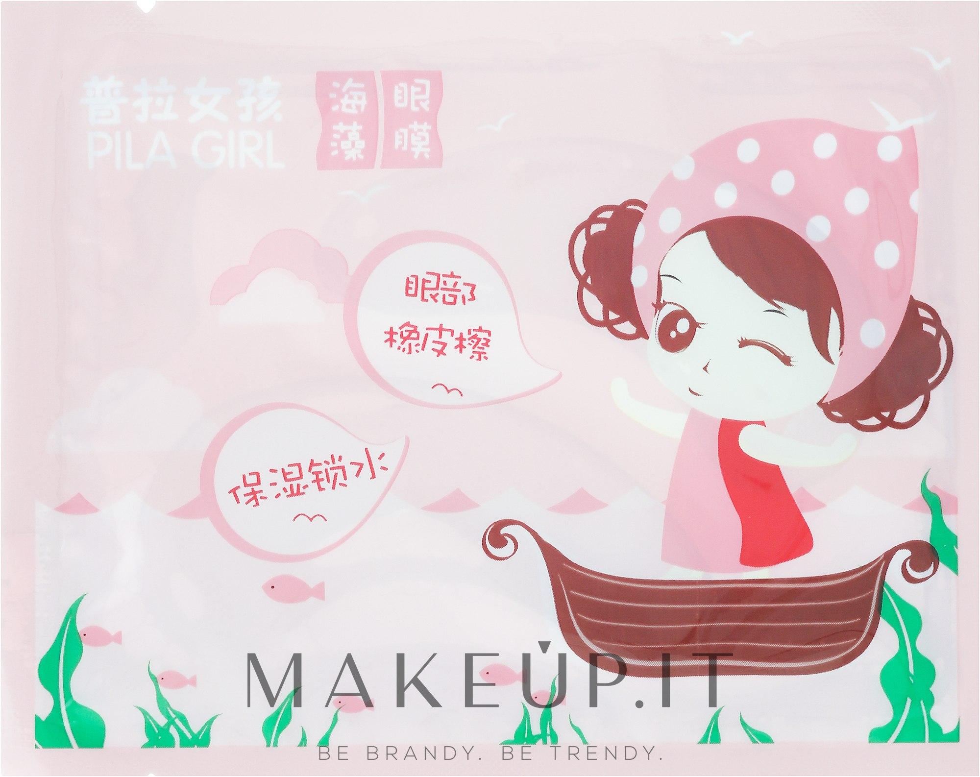 Patch contorno occhi - Pilaten Pila Girl Seaweed Eye Mask — foto 6 g